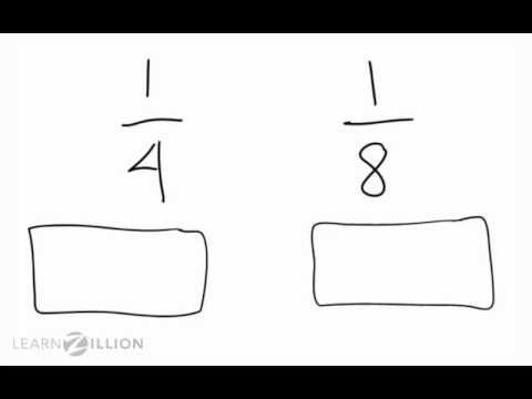 CCSS 3.NF3d GLE N1A5 Compare fractions with the same