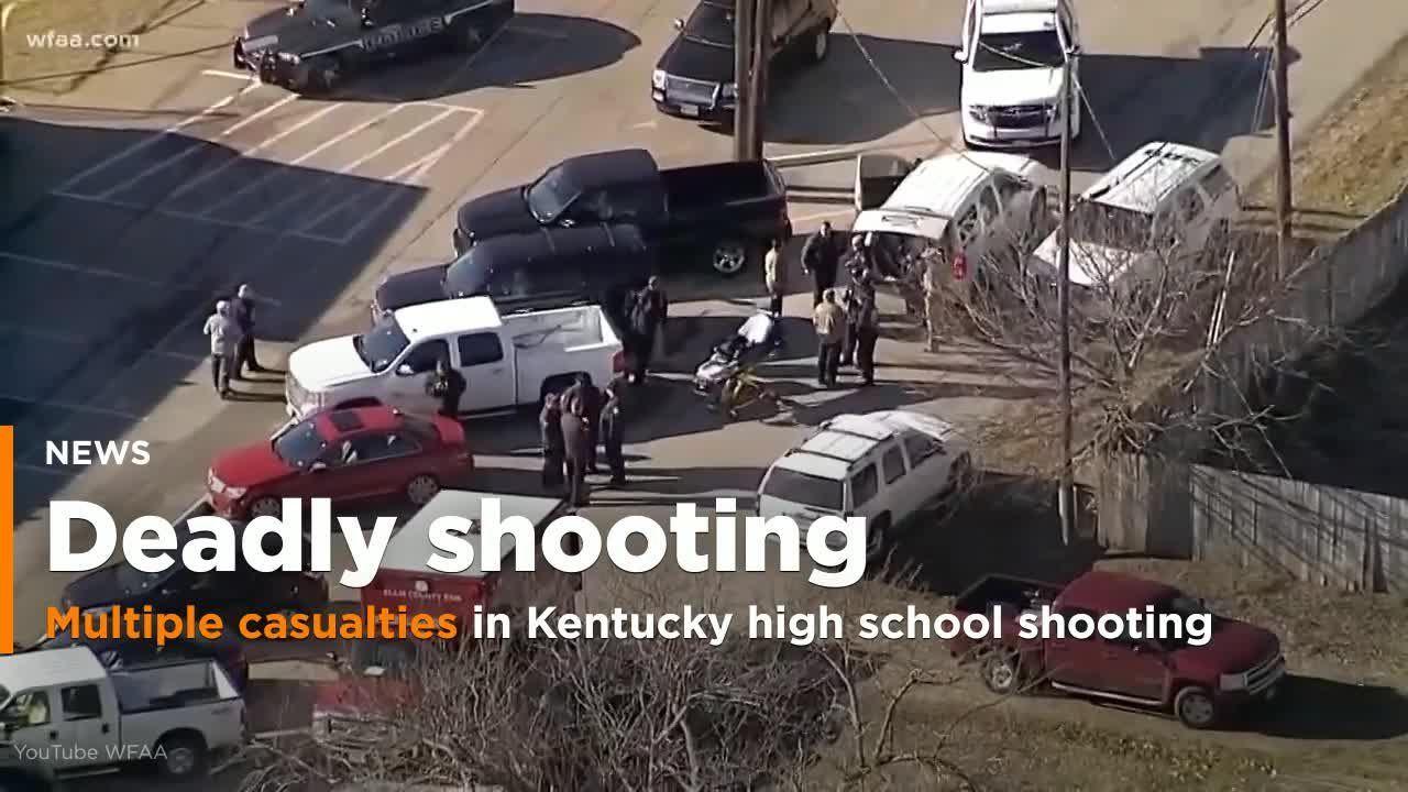 2 dead, 17 injured in Kentucky school shooting; suspect