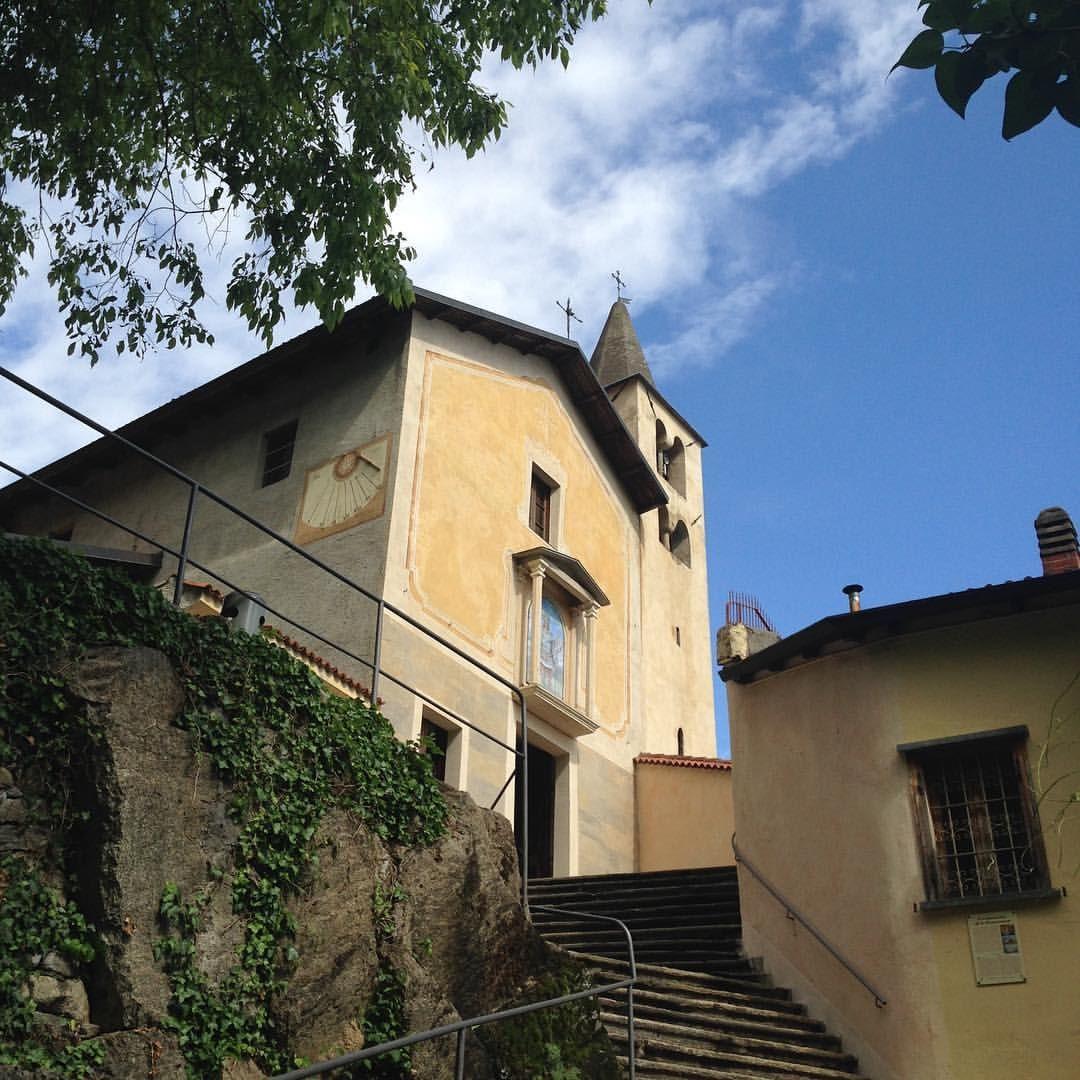 Vaie, Santuario di San Pancrazio #myValsusa 12.05.17 #fotodelgiorno di Luca Giai
