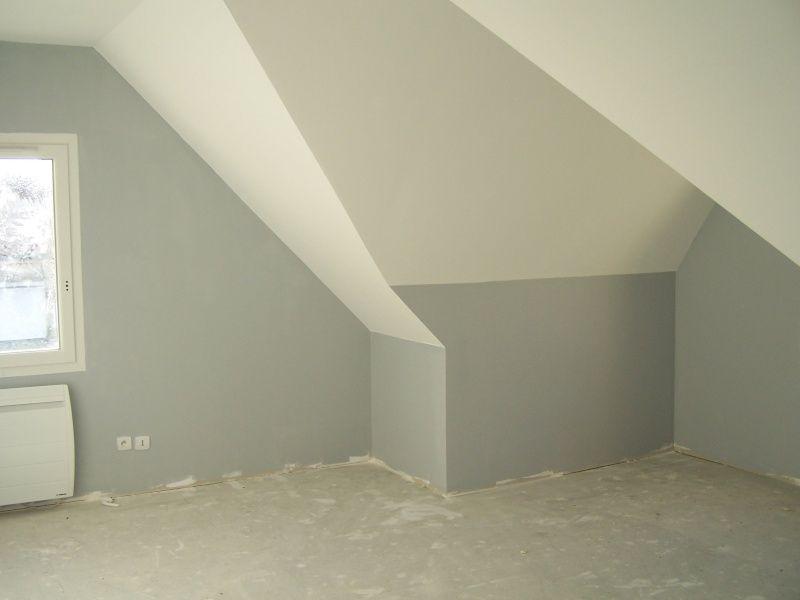 Connu Emejing Comment Peindre Une Chambre Sous Pente Pictures - Matkin  PB19