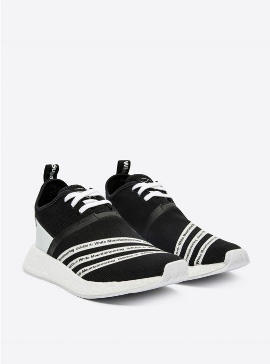 b2a19a368 ADIDAS WM NMD R2 PK Black White Sneakers