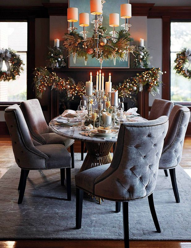 11+ Glam round dining table set trends