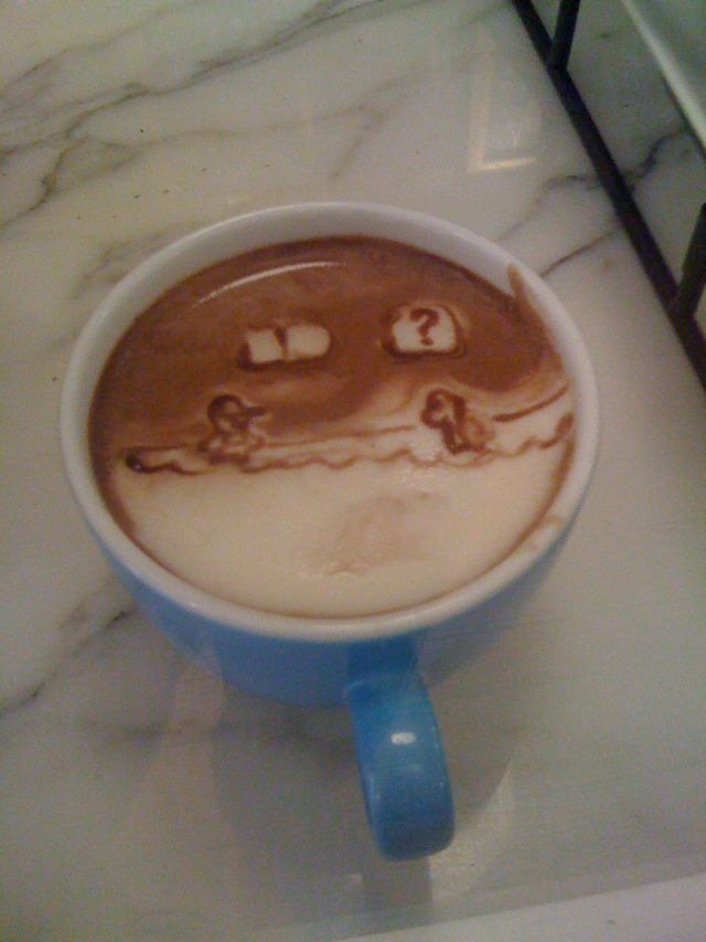Brooklyn barista's latte art is Reddit gold | For the Geek en Moi