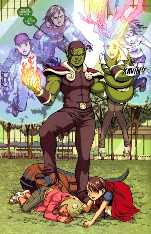 Comics And Nothin But Secret Invasion Runaways Young