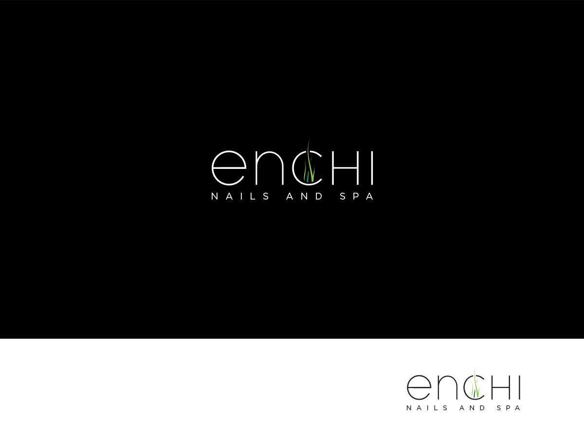 Modern, Upmarket Logo Design for Enchi Nails and Spa by ArtTank ...