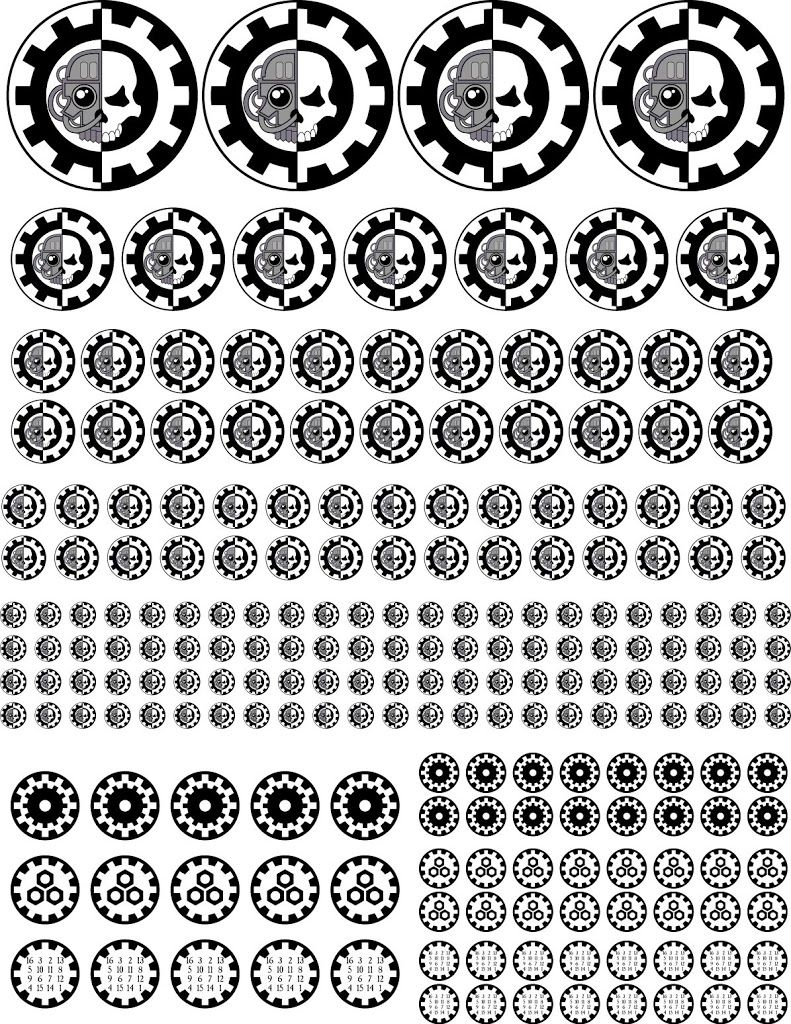 Warhammer 40k Factions Set Car Decals Bumper Sticker Wall Decal Warhammer Gift Warhammer 40k Factions Warhammer Warhammer 40k [ 1500 x 1500 Pixel ]