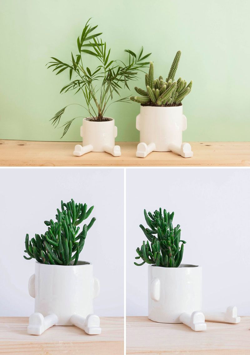 Fun And Functional Tabletop Planters Are An Easy Addition To Your