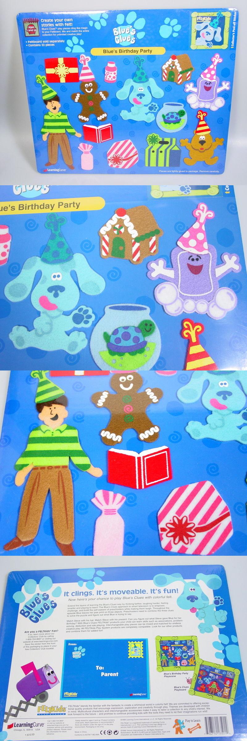 blues clues 2626 blue s clues toy birthday party felt flannel
