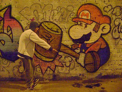 Arte Urbano Mario Bros
