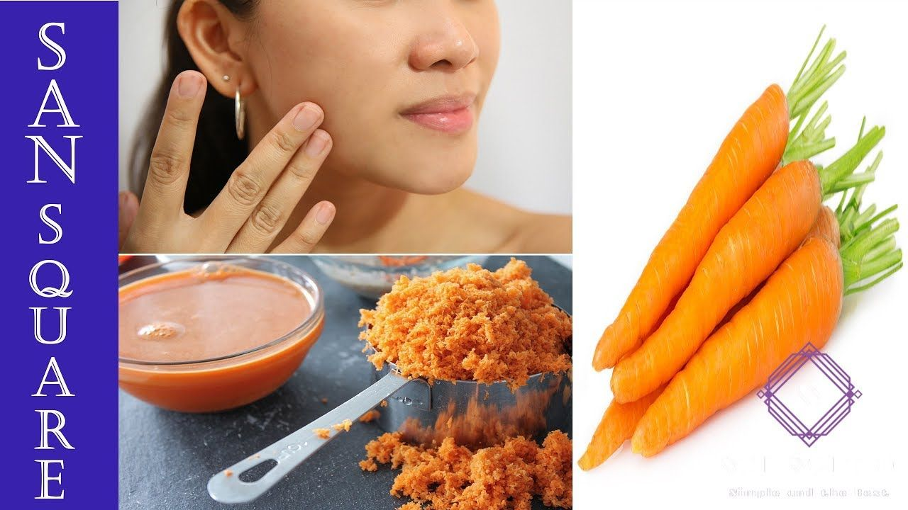 CARROT FACIAL -PERMANENT SKIN GLOWING AND BRIGHTENING FACE MASK IN