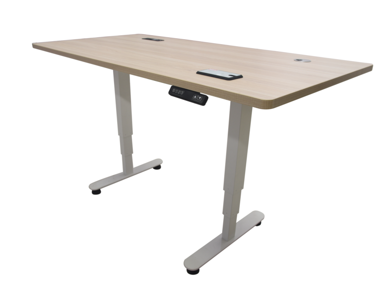 Nes Ergo Desk With Wireless Charging Feature And 2 Motors