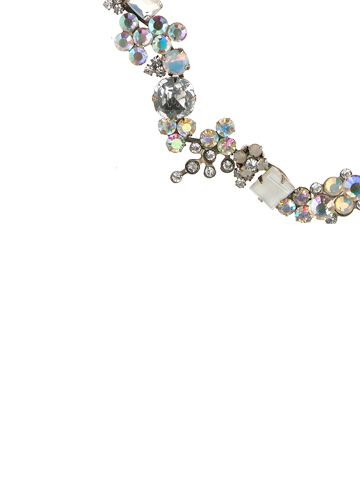 Swarovski Crystal Cluster Style Classic Necklace - Bridal Collection in White Bridal by Sorrelli
