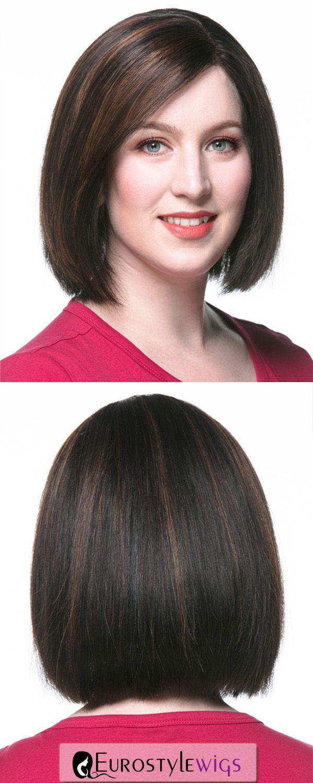 sophia short classic bob with side bangs indian hair wig