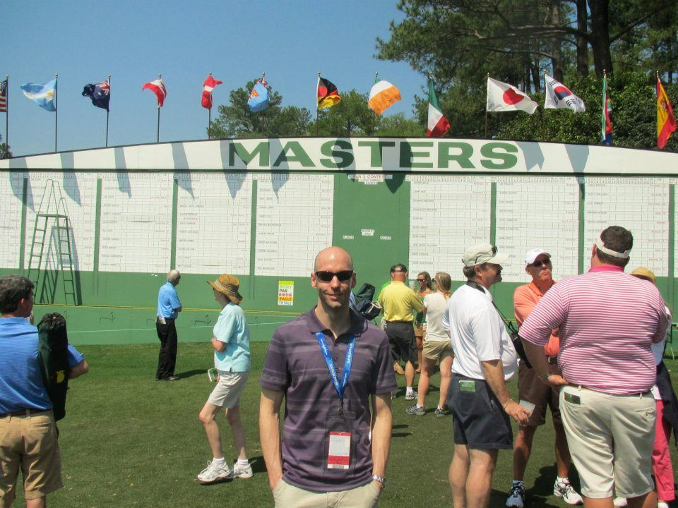 Masters 2012! Travel experience, Soccer field, Master
