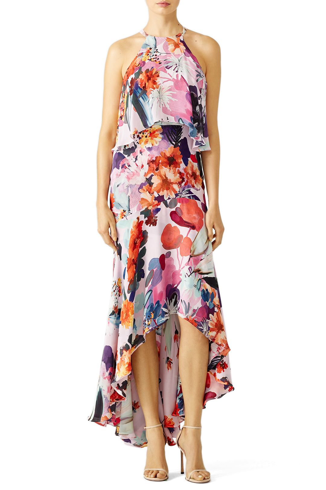 Dress for wedding guest spring  What to Wear to a May Wedding  High low Floral and Designers