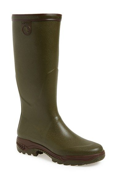 Aigle 'Parours 2' Tall Waterproof Rain Boot ...