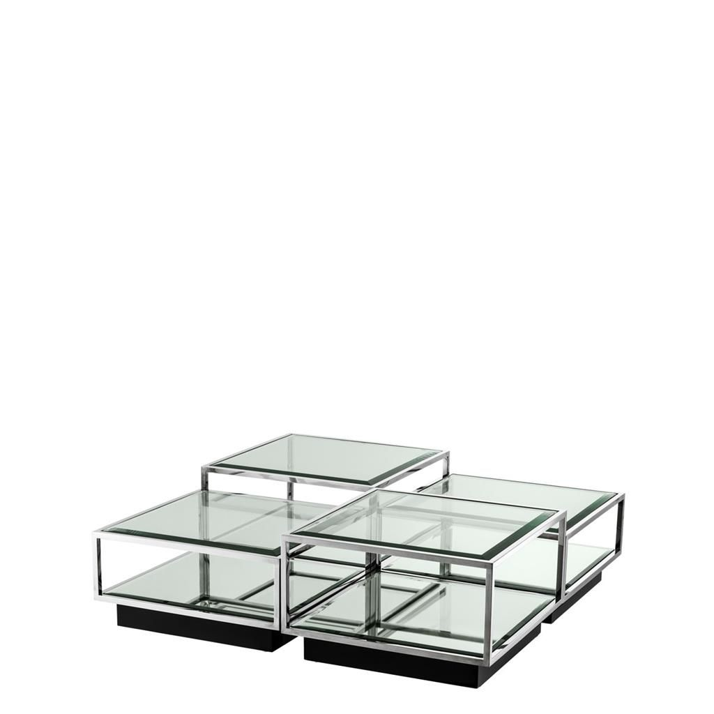 Couchtisch Moderne Klassiker Eichholtz Couchtisch Tortona Stainless Coffee Tables Side