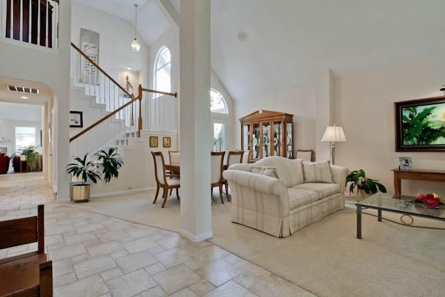 Gorgeous living room in this Addison, #Texas home