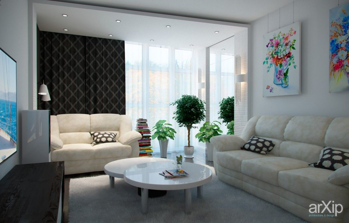 ...и гостиная.: интерьер, квартира, дом, гостиная, минимализм, 10 - 20 м2 #interiordesign #apartment #house #livingroom #lounge #drawingroom #parlor #salon #keepingroom #sittingroom #receptionroom #parlour #minimalism #10_20m2 arXip.com