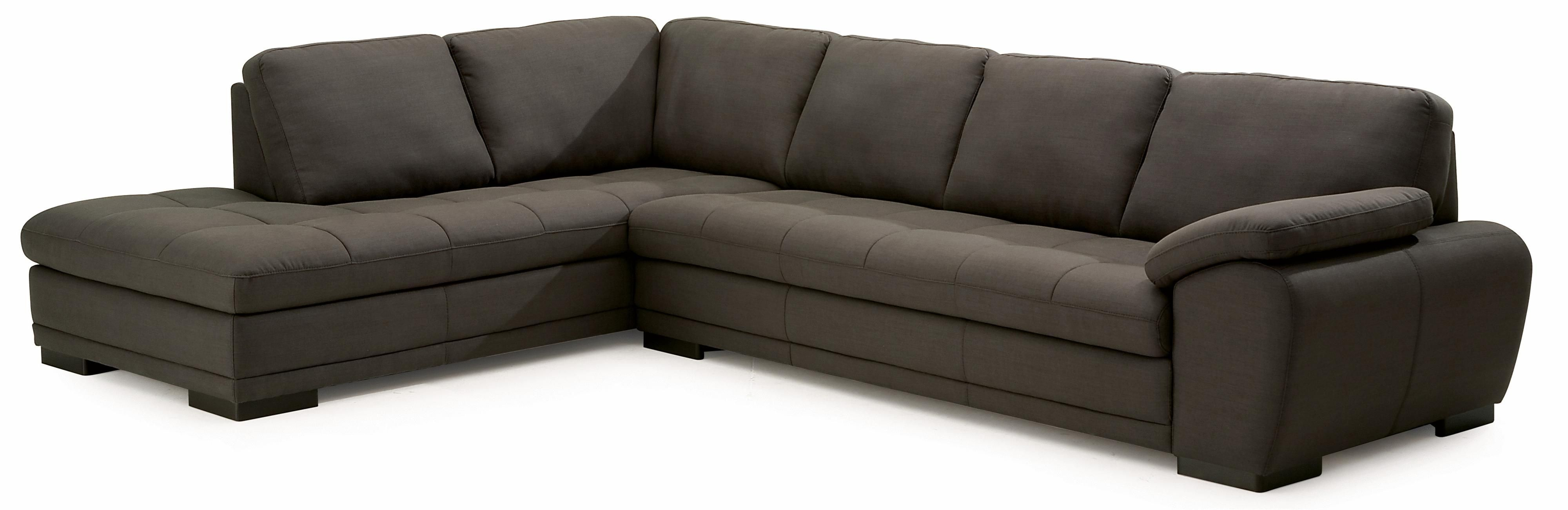 Miami Contemporary 2-Piece Sectional Sofa with Left-Facing Chaise by ...