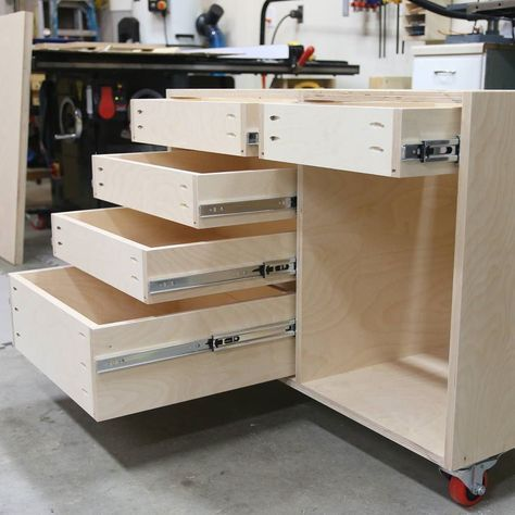 Best How To Build A Base Cabinet With Drawers Building 640 x 480