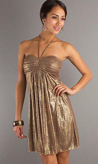 vestido color dorado - Buscar con Google