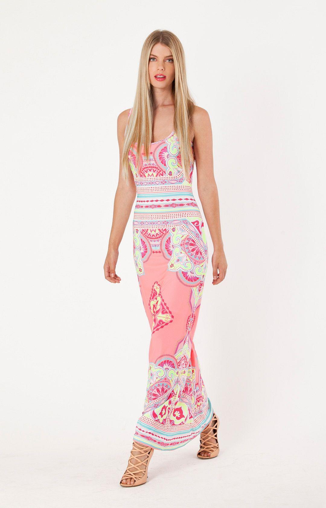 Lian Maxi Dress | Womens Dresses | Hale Bob Dresses - Hale Bob ...