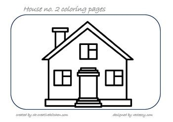 HOUSE #COLORING PAGES | Baby | Pinterest | Babies