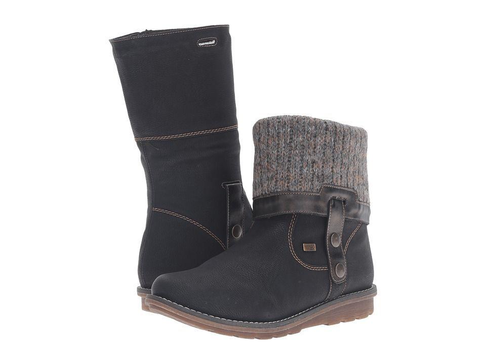 Rieker Winter boots - schwarz tcLnV