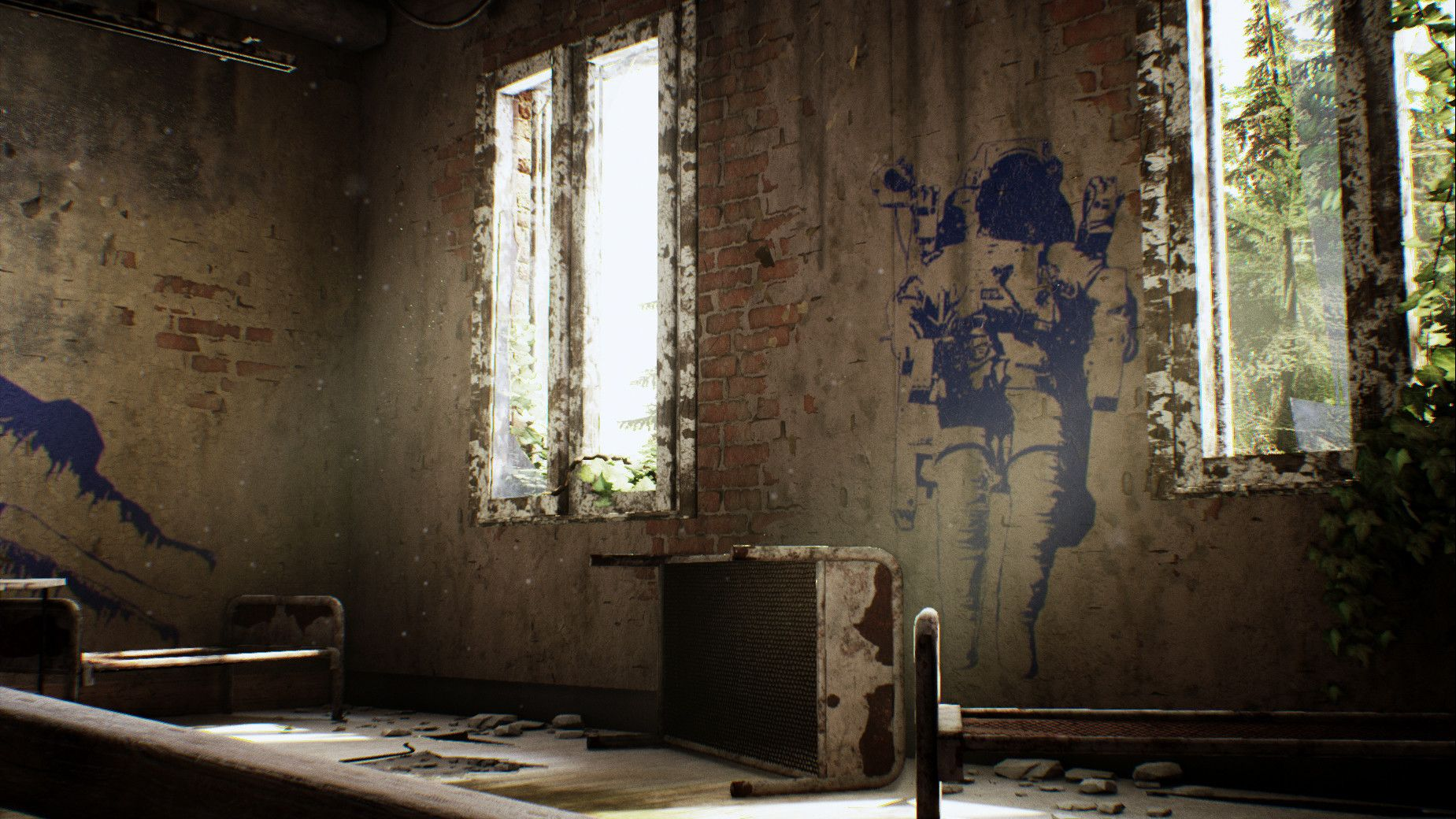 "Creating ""Abandoned Hospital"" in UE4"