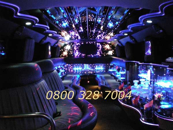 Inside Of A Hummer Limo Limos
