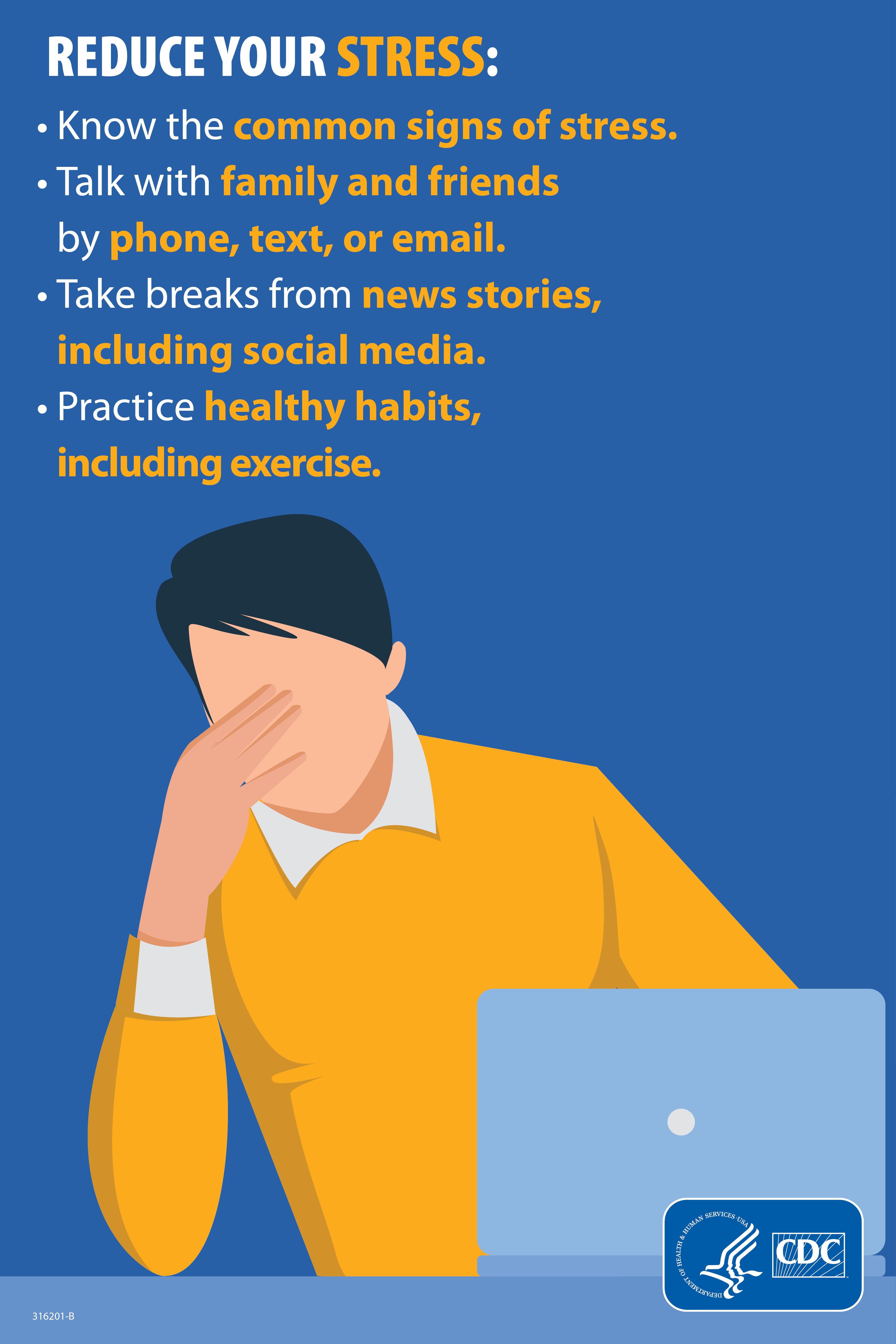 stress ångest symptom