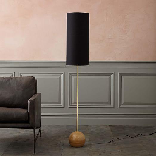 Rejuvenation stand floor lamp narrow westelm