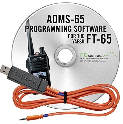 RT Systems Programming Software and USB-55 Cable for Yaesu FT-65 Dual Band HT #programingsoftware