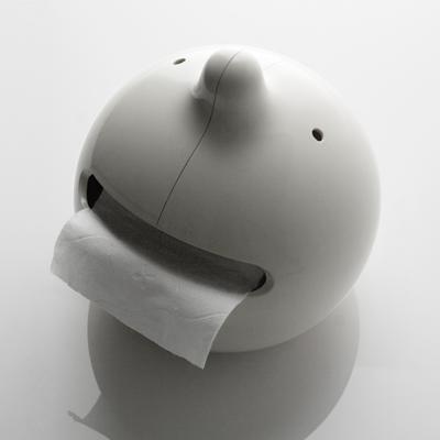 JOURNAUX à et Distributeur de Papier Toilette Blanc Toilettes Porte-rouleau Journal Support
