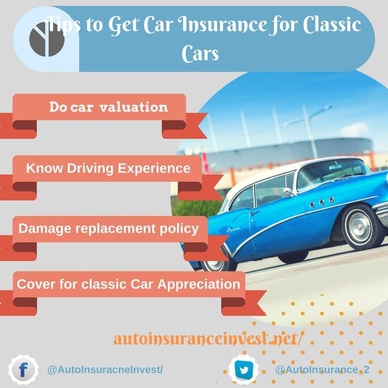 Vital Tips To Get Classic Car Insurance Classic Car Insurance