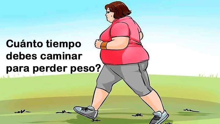 cuantos pasos al dia para perder peso