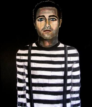 "Saatchi Art Artist Courtney Jordan Bindel; Painting, ""Clown"" #art"