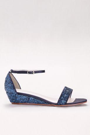 b48c695490f5 Glittery Low-Wedge Sandals MAYE