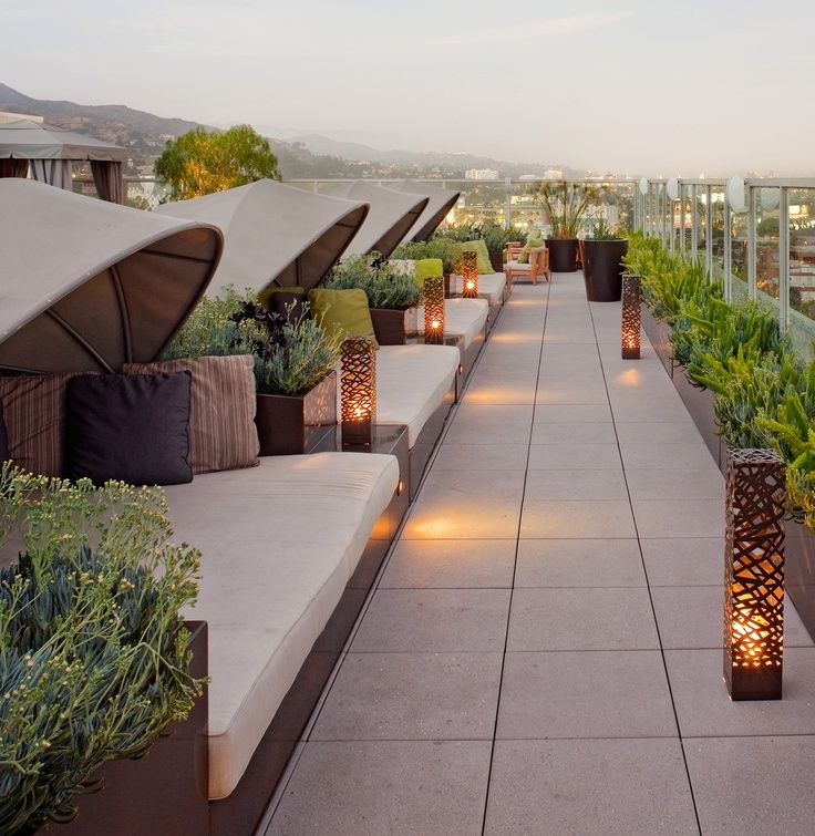 Resort Inspirations Rooftop Design Rooftop Patio Roof Garden