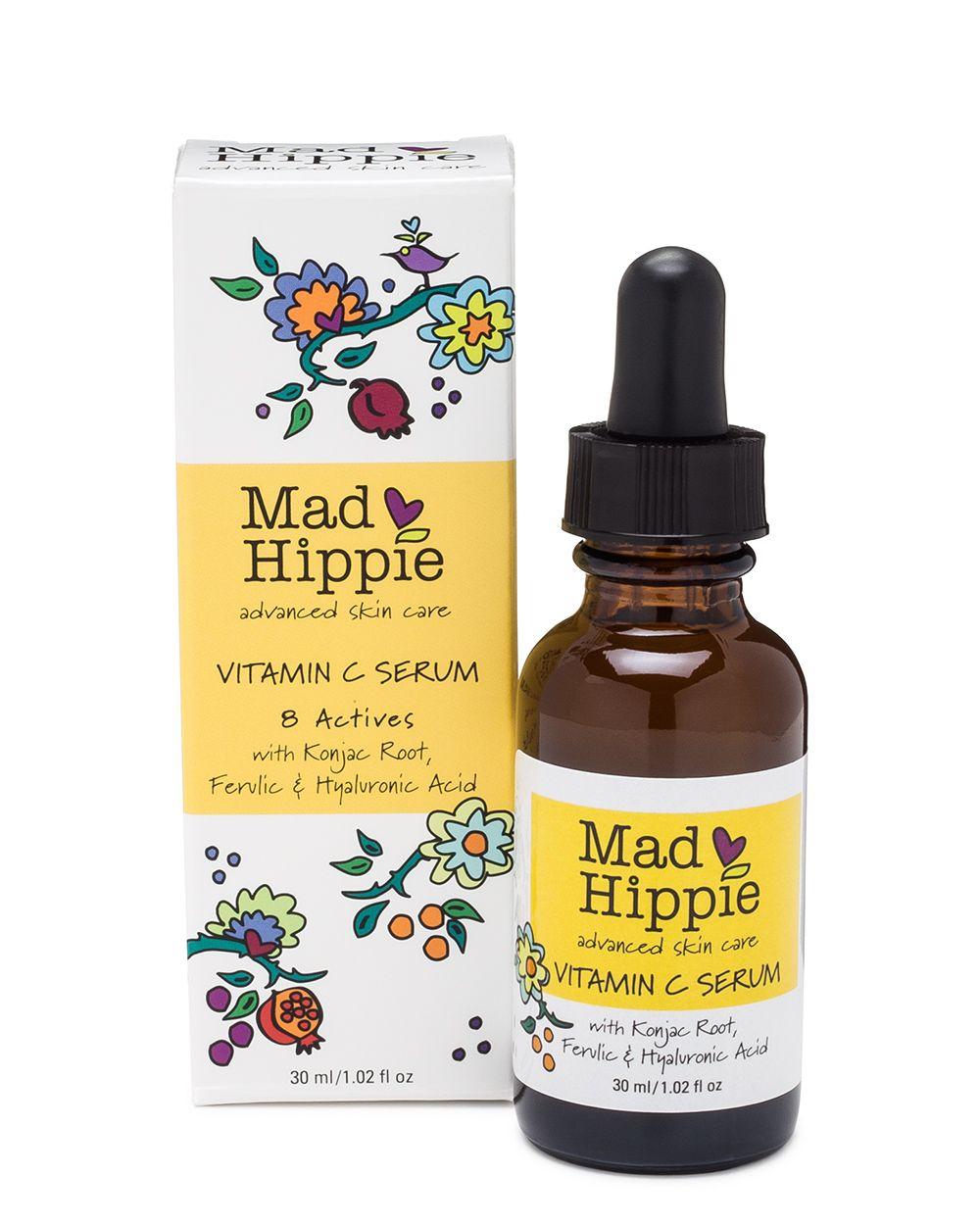 Vitamin C Serum In 2020 Mad Hippie Skin Care Natural Vitamin C Mad Hippie
