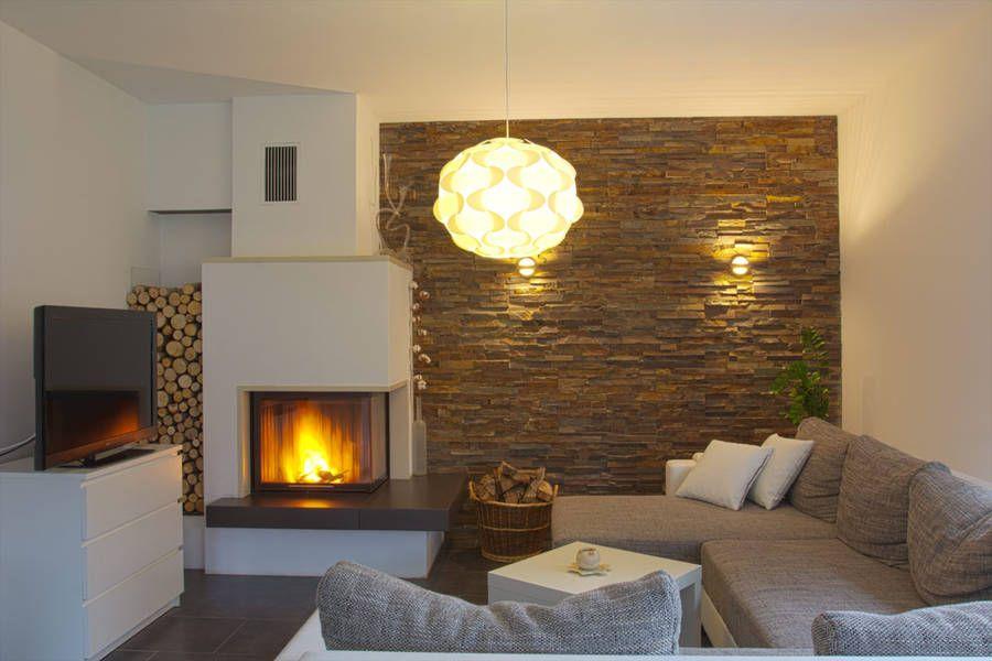 moderner eckkamin ofenhaus braun ideen rund ums haus. Black Bedroom Furniture Sets. Home Design Ideas