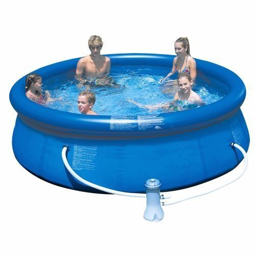 Intex Easy Set 10 X 30 Swimming Pool With Filter Pump Setup