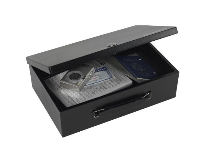 Fireproof Safety Box Deposit Cash With Lock Fire Retardant For