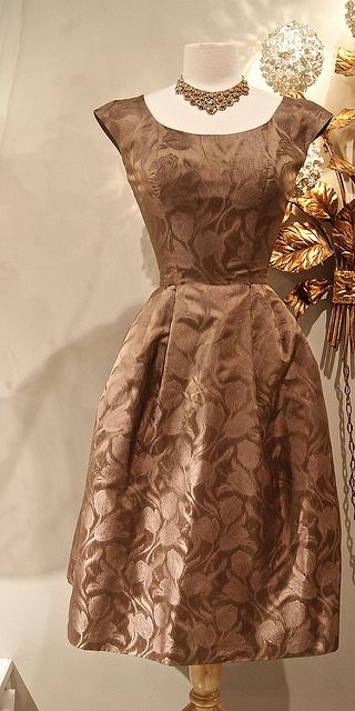 early 1960s silk cocktail dress pinterest v tements