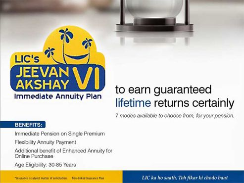 Jeevan Akshay VI | Life insurance agent, Annuity, How to plan