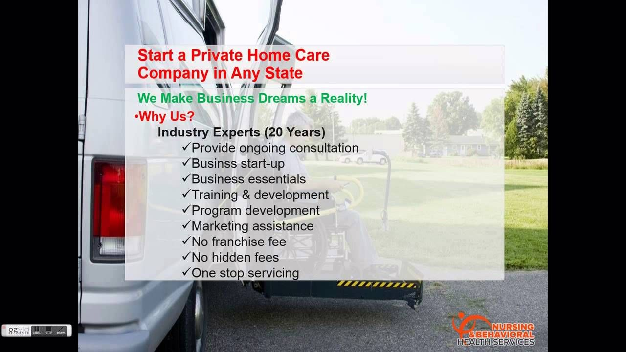 Start a Private Home Care Company in Any State Get Home
