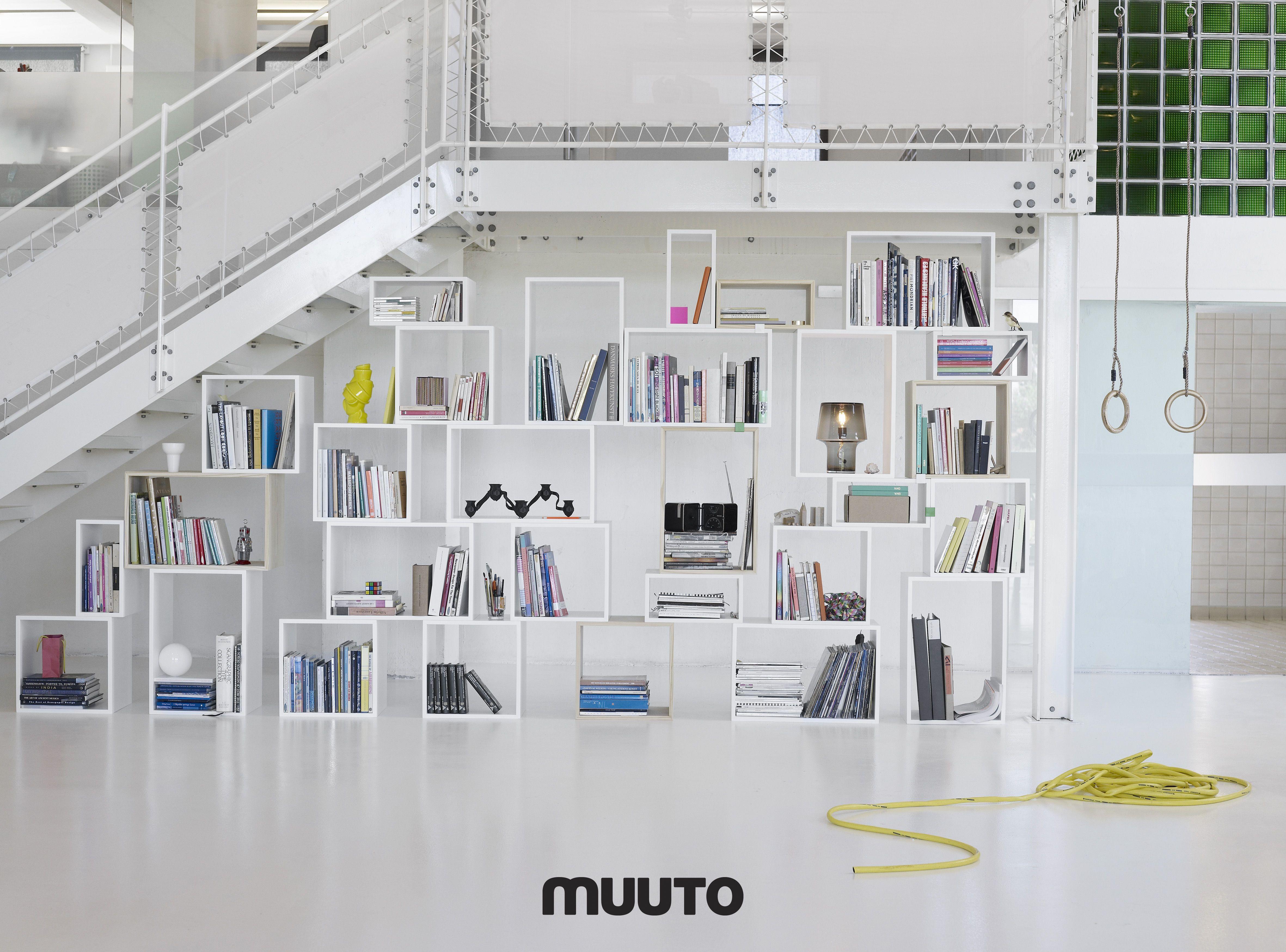 Stacked blanc - par Muuto
