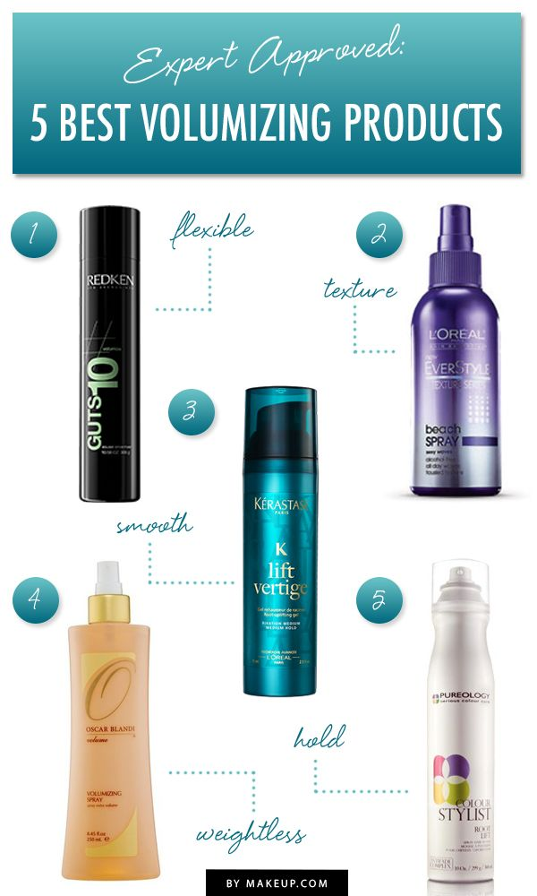 The Best Volumizing Hair Products For Fine Flat Hair Makeup Com By L Oreal Best Volumizing Hair Products Volume Hair Hair Care Volume