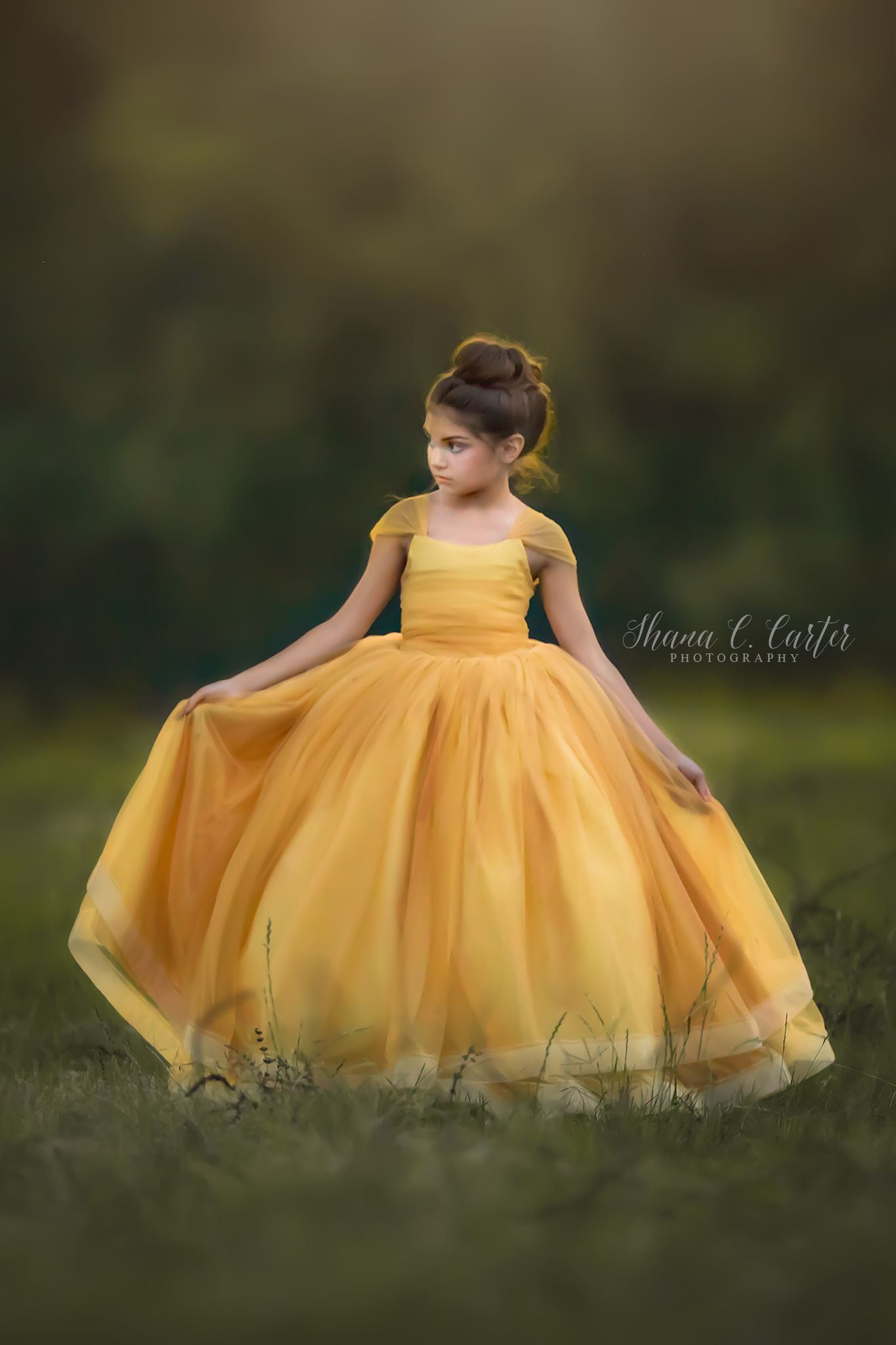 Tutu Princess Designer Tulle dress FLOWERS Theme Bespoke Party weddings yellow